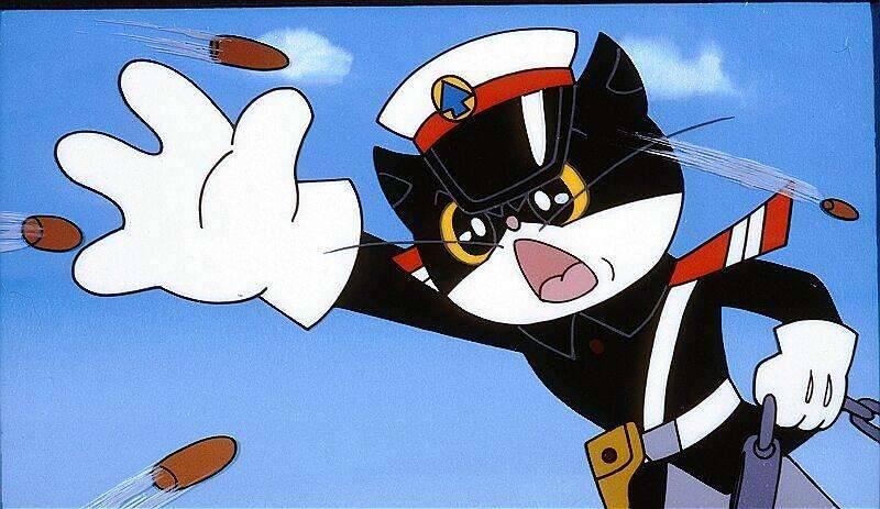 1984年的国漫《黑猫警长》