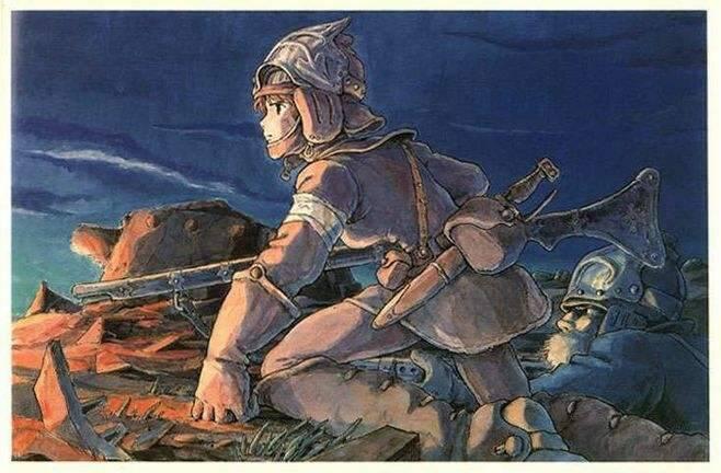 1984年的日漫《风之谷》